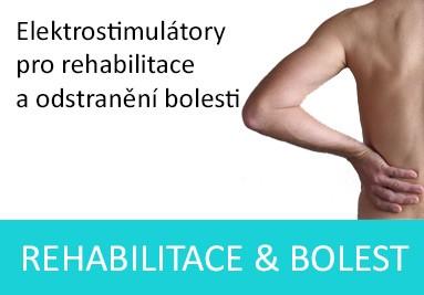 Elektrostimulátory pro rehabilitace a odstranění bolesti